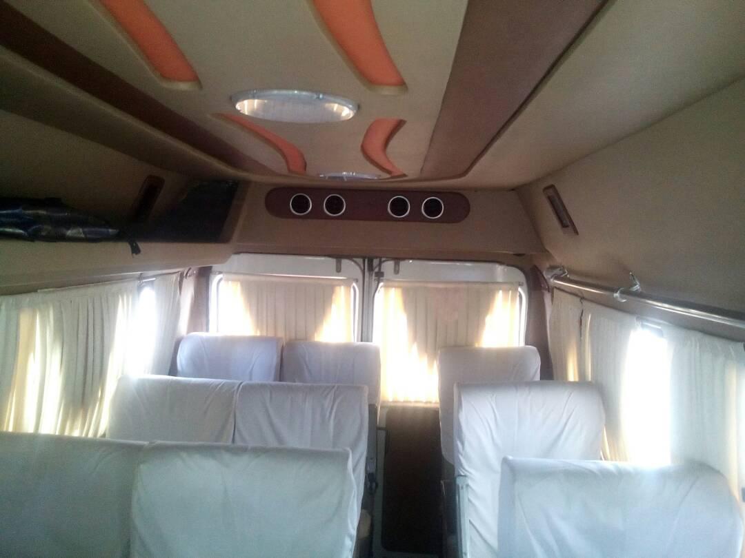 SBLT 12 Seater Inner View