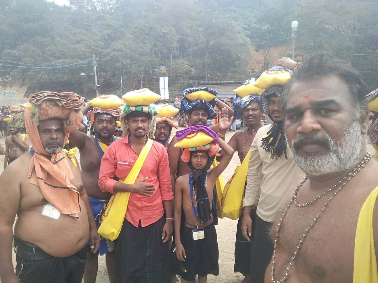 Sabarimala yatra images SBLT Tours and Travels