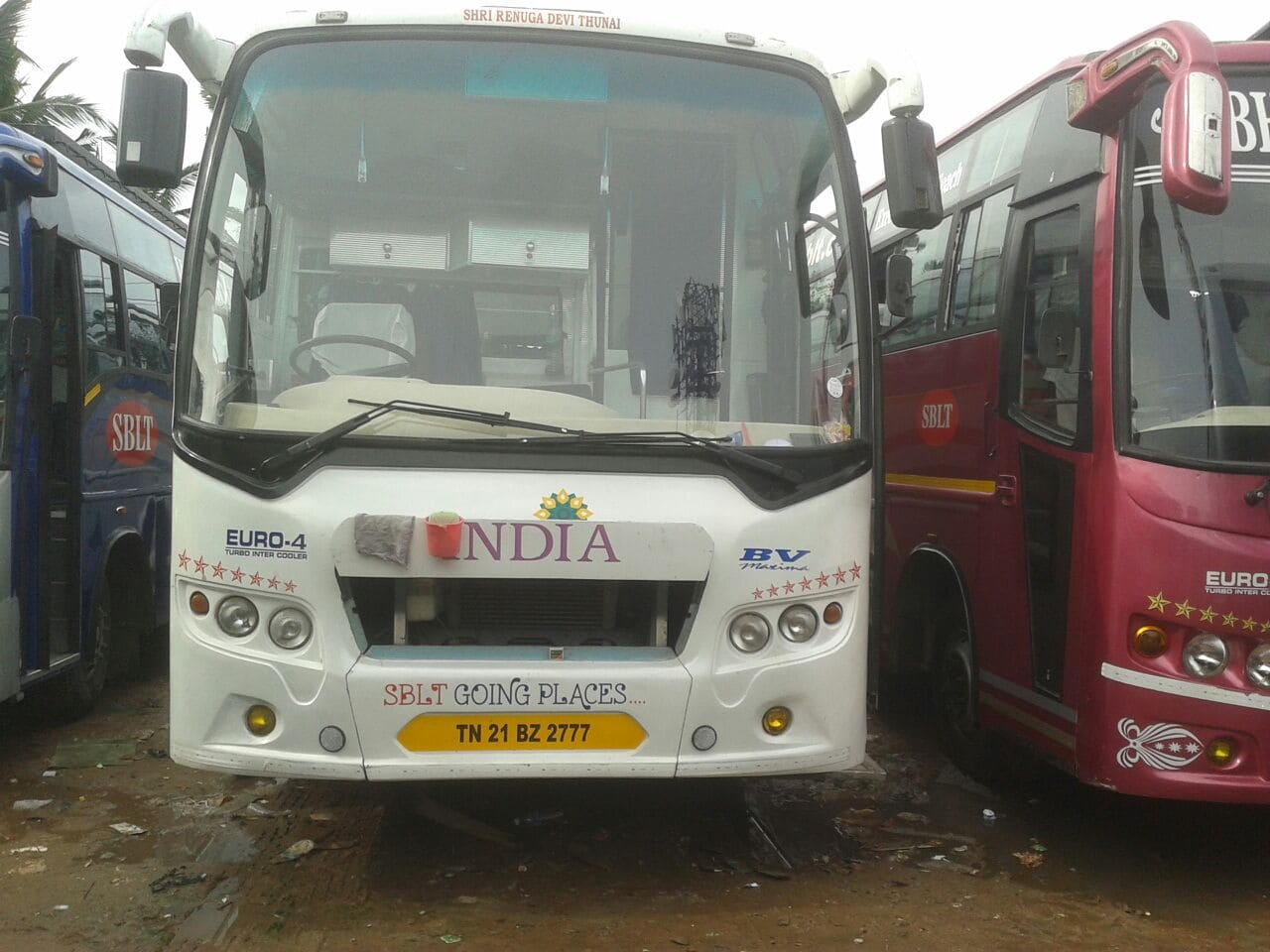 Sblt 45 Seater Front View