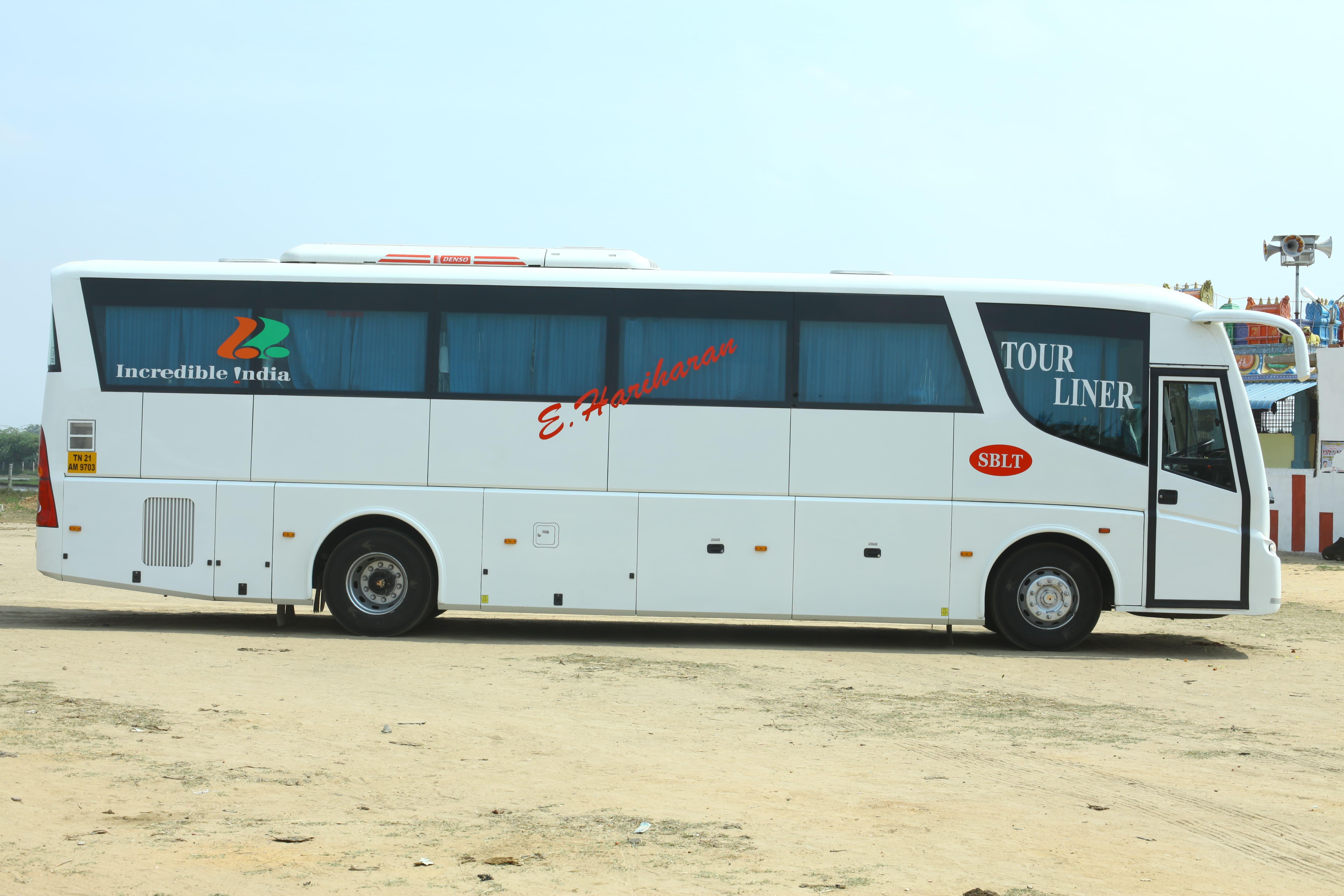 Sblt Isuzu Coaches Side View
