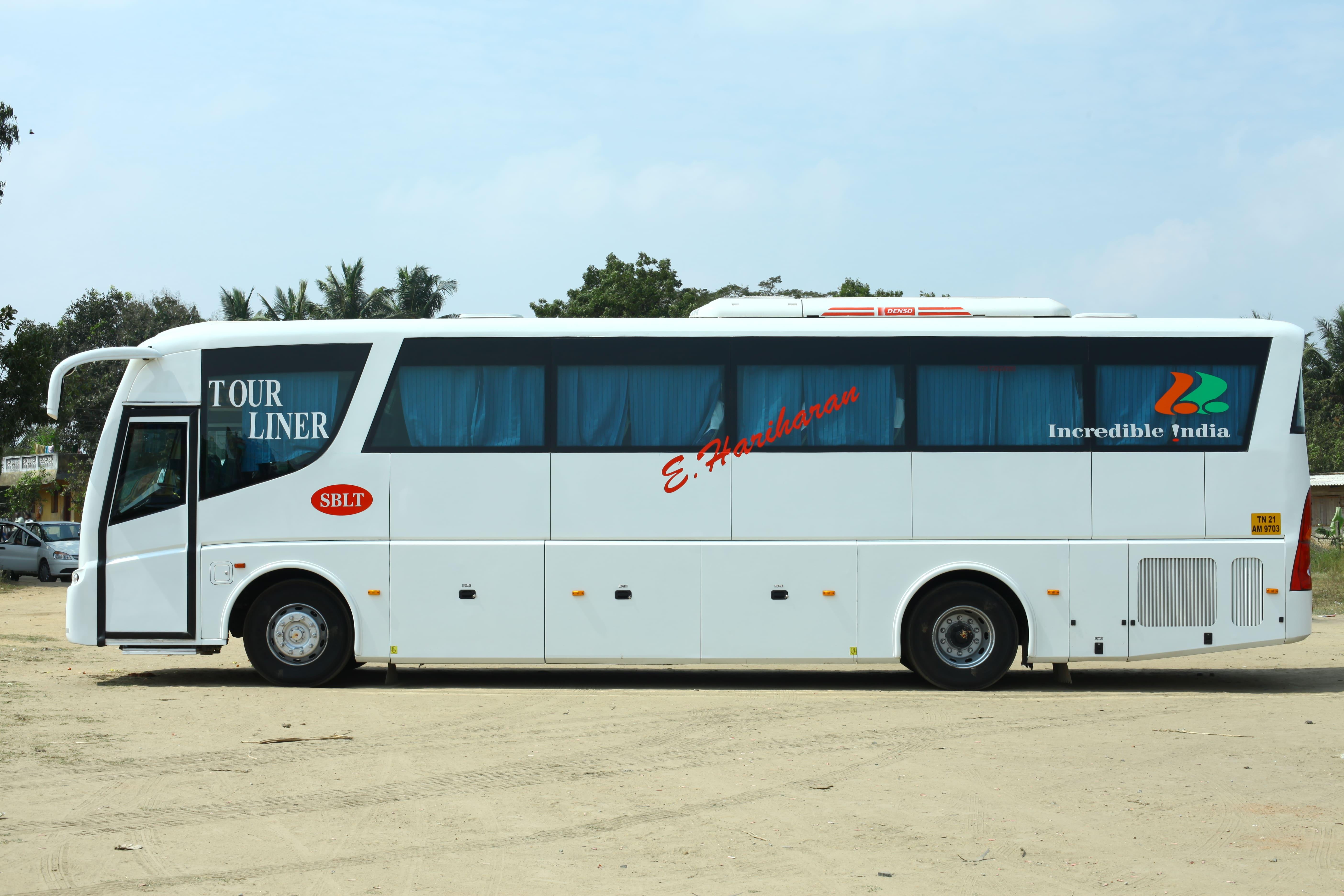 Sblt Isuzu Coaches Side Viwe