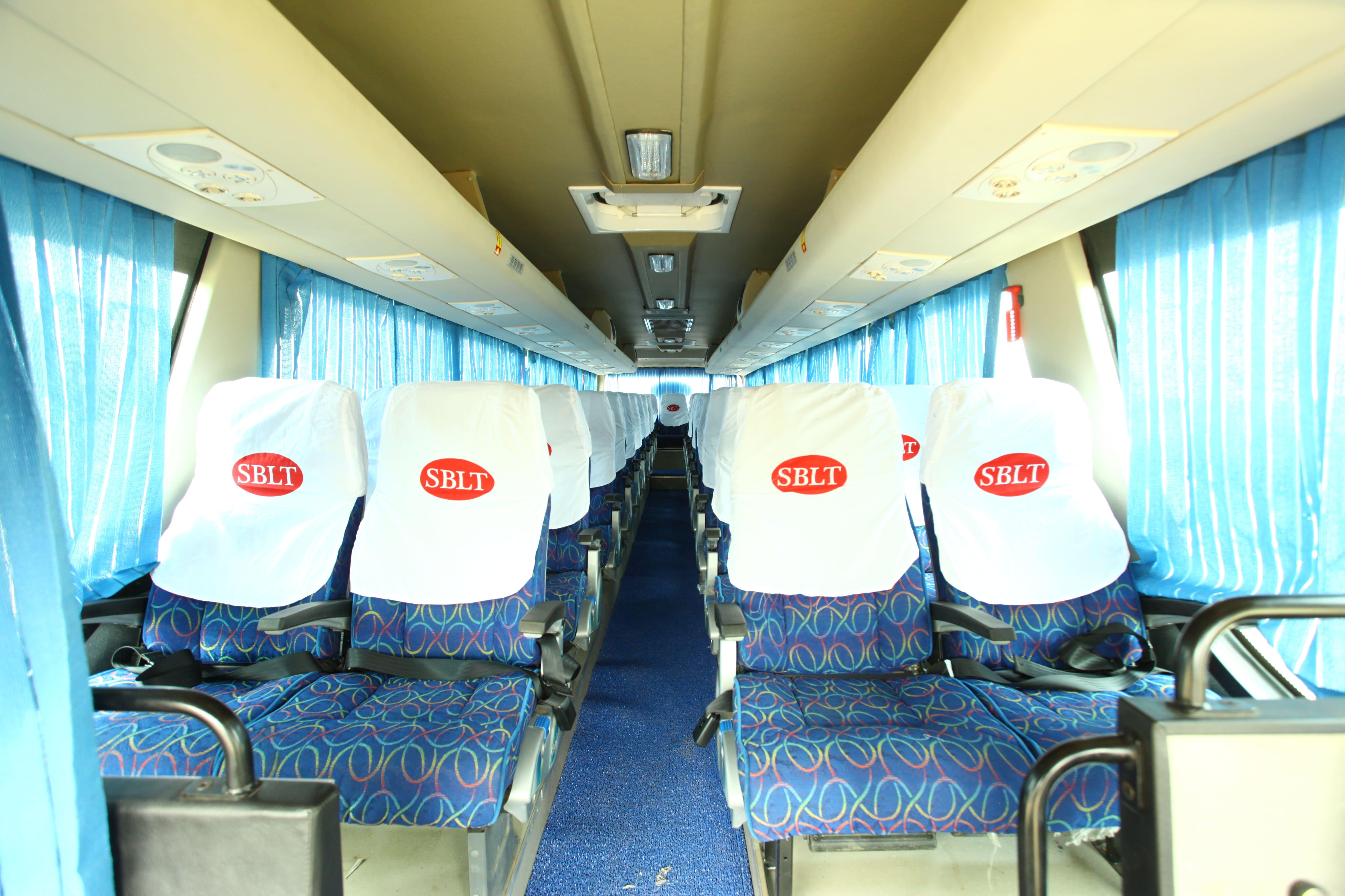 Sblt Isuzu Coaches inner View